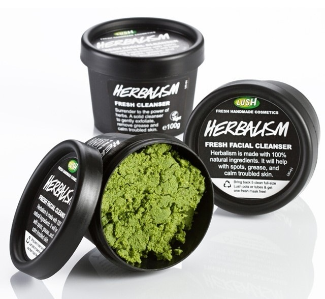 lush acne producten